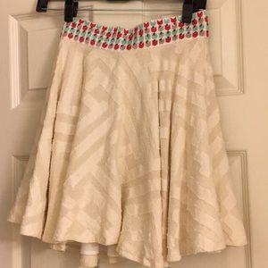 Dresses & Skirts - White cotton skirt, XS